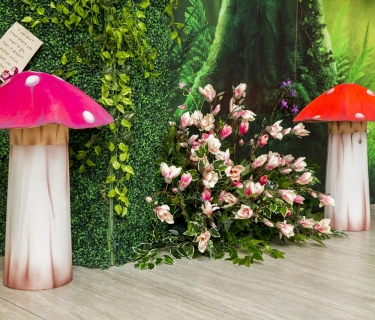 mushroom foam design