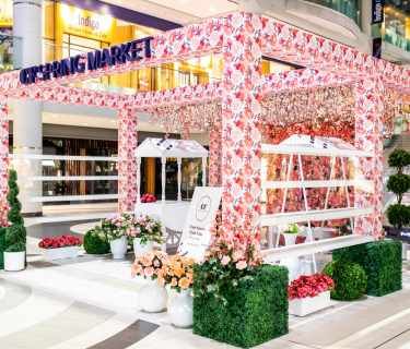 Booth-decoration-with-styrofoam