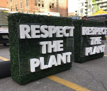Custom-Foam-Letters-respect-the-plant
