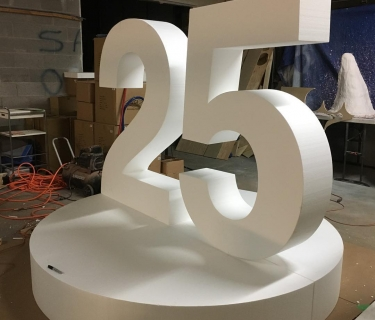 large custom foam letters 25