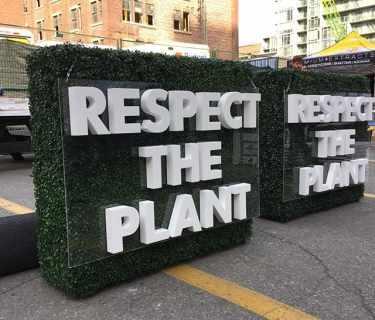 Custom-Foam-Letters-respect-the-plant