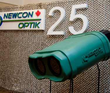 corporate foam sign for newcon optik2