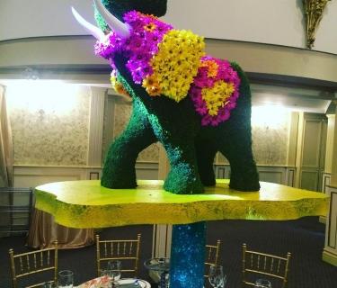 custom foam elephant replica