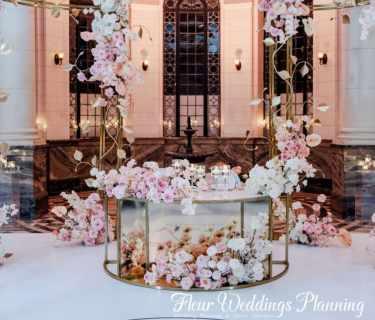 wedding decoration floral arch