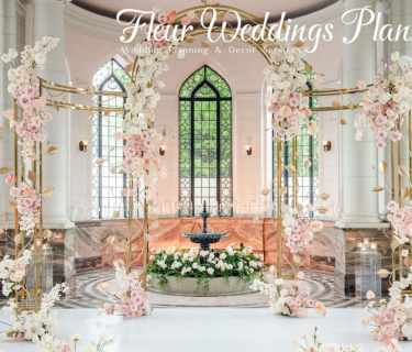 wedding floral arch decorations