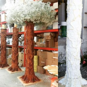 custom foam tree decorations