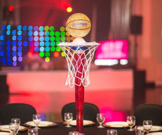Basketball Table decoration