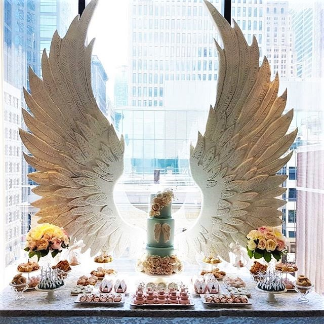 party decor wings
