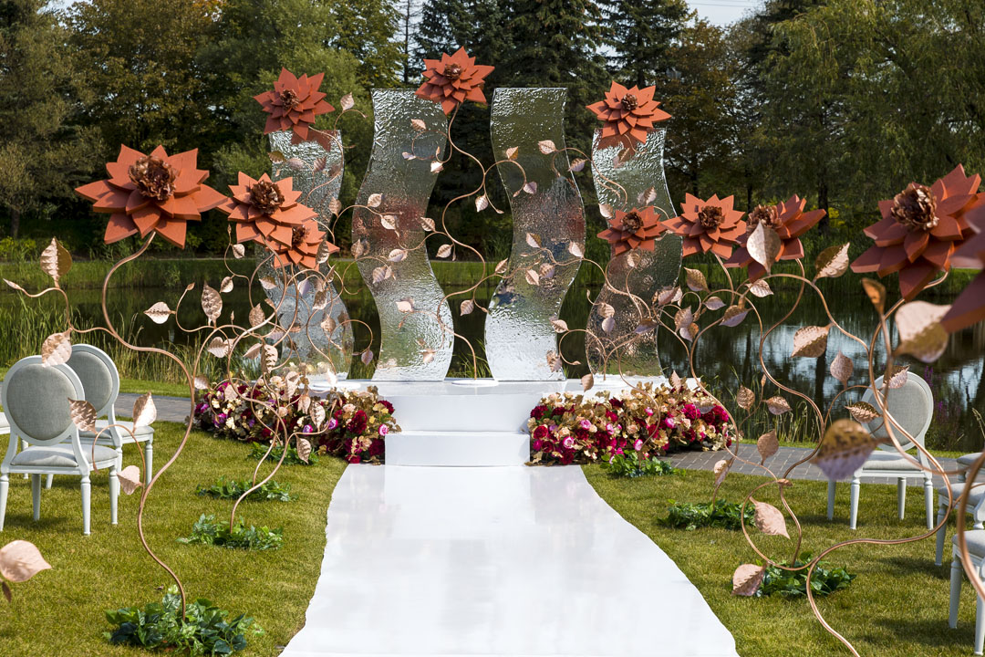 Wedding Ceremony Setups Decoration Ideas 3d Custom Foam