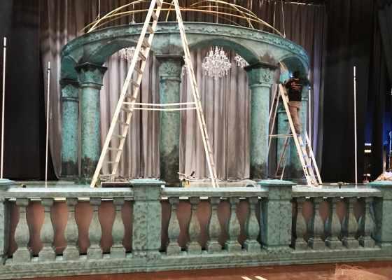 foam stage props