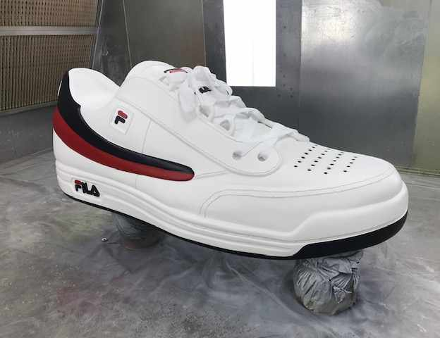 White Fila Replica