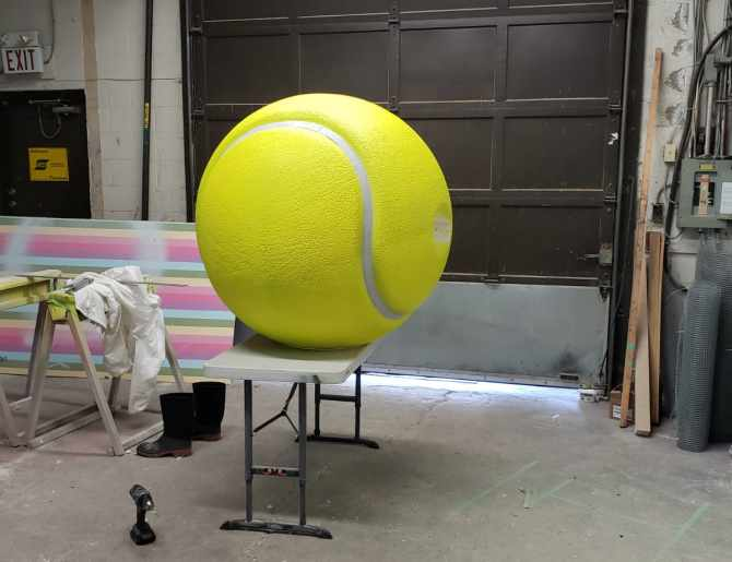 Huge Tennis Ball Replica